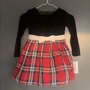Cat & Jack Beautiful Holiday Dress NWT xs 4/5🌲